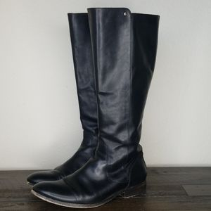 Frye Melissa Tall Black Riding Boot Size 9.5